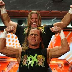 Photo of Shawn Michaels & his friend